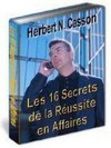 Ebook Les 16 secrets de la reussite en affaire
